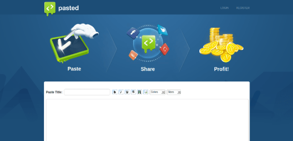 pasted-co 15 Useful Code Sharing Websites for Web Developers