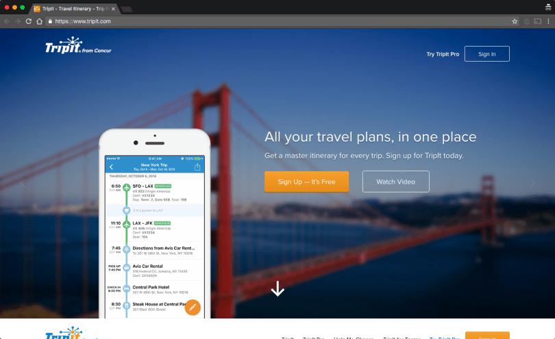 TripIt-Travel-Itinerary-Trip-Planner-2016-10-02-02-44-10 25 Useful Resources for working Digital Nomads