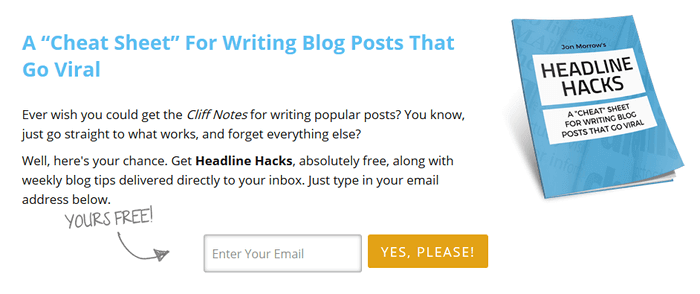 lead-magnet-example How to Start a WordPress Blog – The Definitive Guide