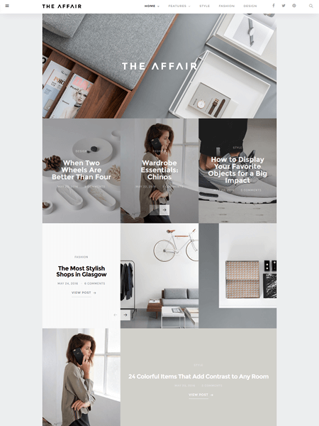 the-affair 30 Newsworthy Magazine WordPress Themes for Blogs & Magazines