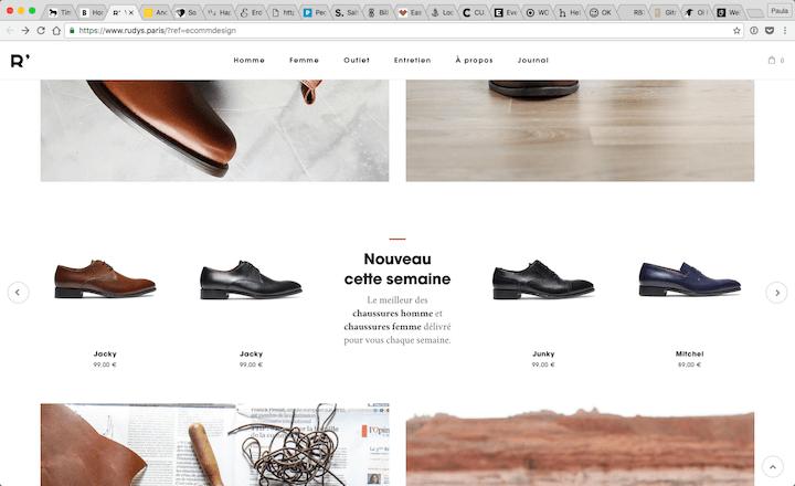 Vente-de-chaussures-Hommes-et-Femmes-2016-10-28-10-45-58 17 Rock Solid Website Layout Examples for 2017