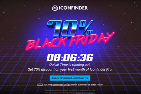 iconfinder 15 Best Black Friday / Cyber Monday Deals for Designers and Developers