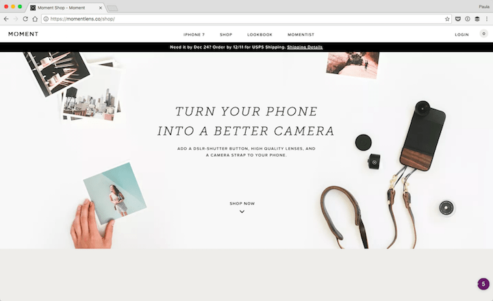 Moment-built-with-wordpress 14 Fantastic website you didn't know were built with WordPress