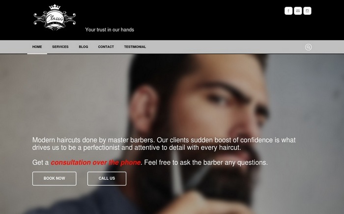classic-cuts 15+ Best Examples Of Websites Built With Weebly