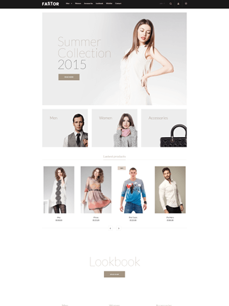 fastor 15 Top Shopify Themes for Your Online Store