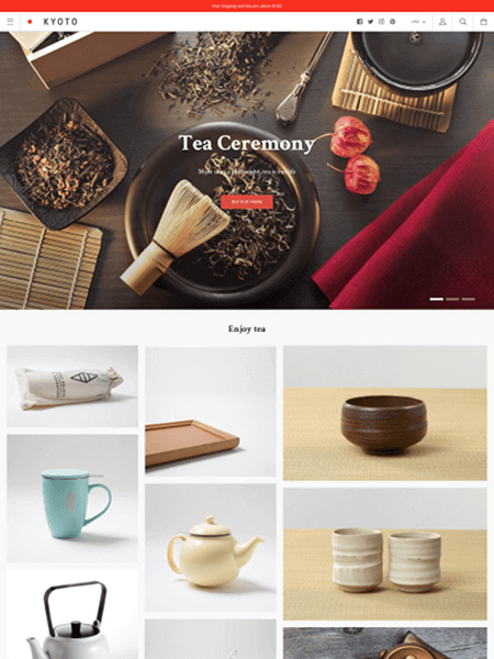 kagami 15 Top Shopify Themes for Your Online Store