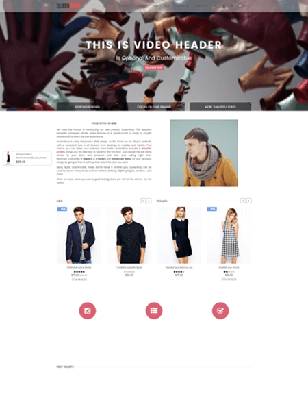queen 15 Top Shopify Themes for Your Online Store