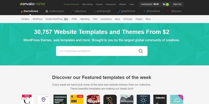 theme-forest How To Make A Website with WordPress – The Ultimate Guide