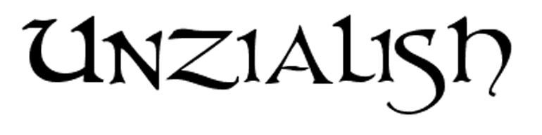 unzialish 25 Free Tattoo Fonts with Style