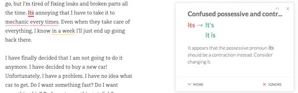 1c-grammarly-editor-2 Grammarly vs Ginger vs JetPack vs Hemingway