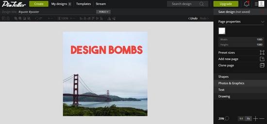 pixteller-editor 8 Best Web-Based Photo Editors For Online Marketers
