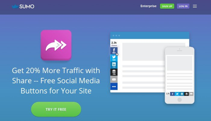 Sumo-Share 24 Must-Have WordPress Plugins for 2017