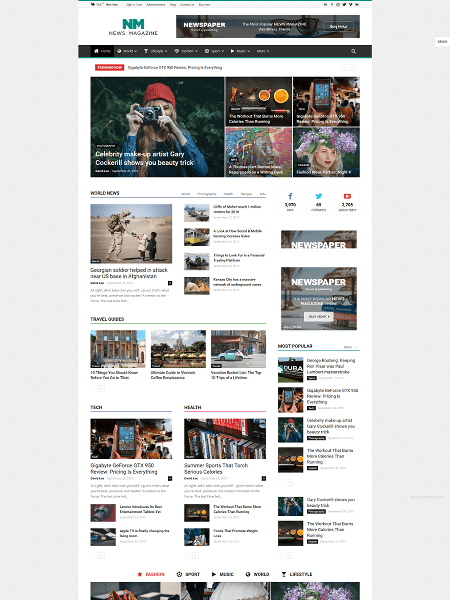 newspaper 16+ Best AdSense Optimized WordPress Themes