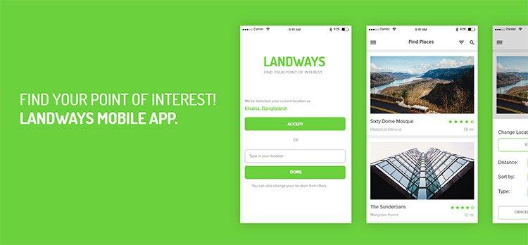 12-landways-app 22 Incredible Adobe XD Freebies For UI Designers