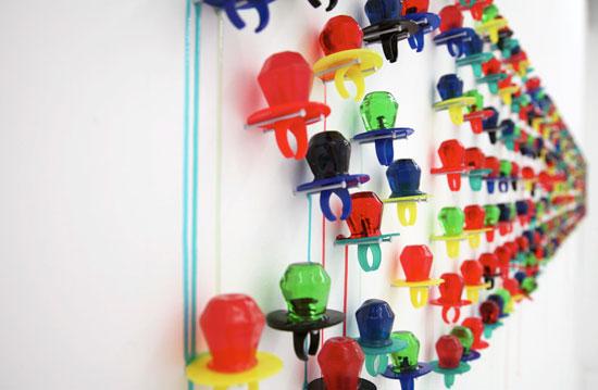 Ring pop art by Julia Chiang, courtesy Design Boom