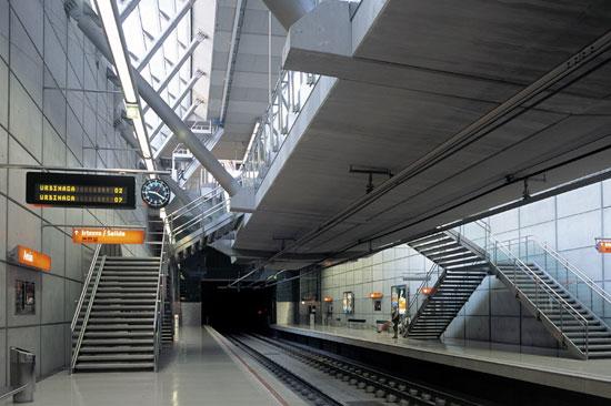 Bilbao metro, Spanyol
