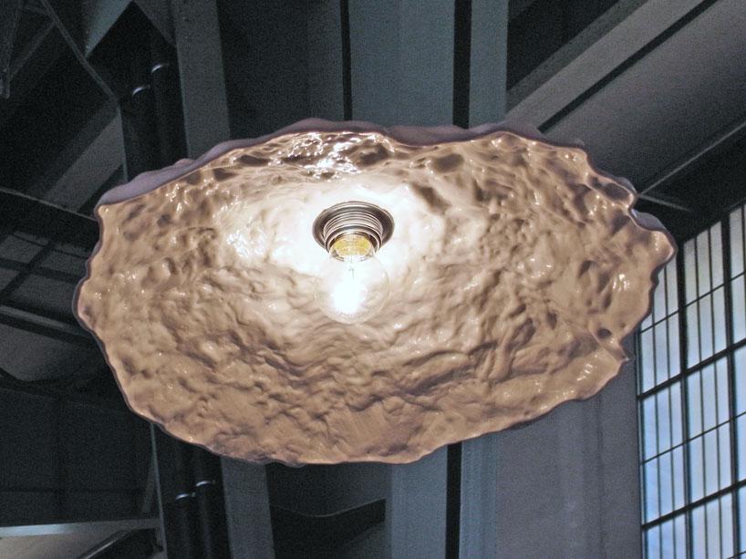Pot hole lamp casts