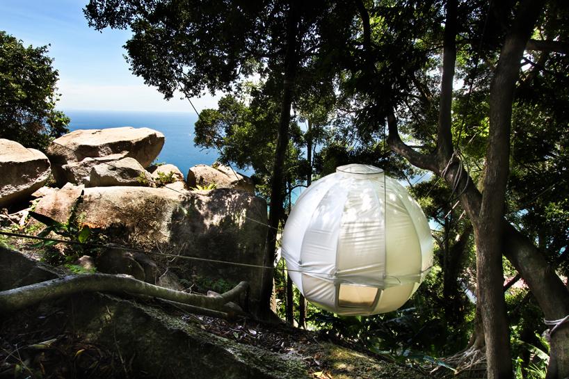 cocoon tree bed - a luxury tent getaway