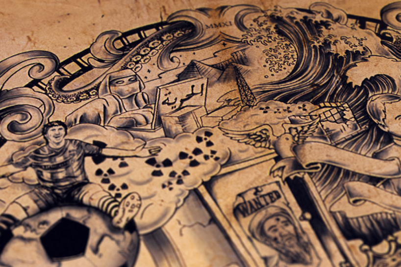Tattooed Poster By The Chaos Crew