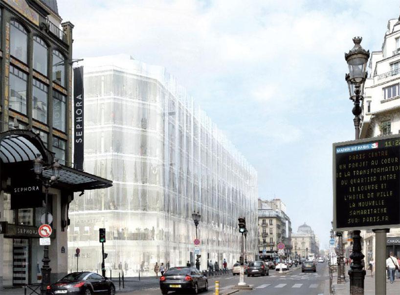 SANAA Reveals Plans For Samaritaine Paris