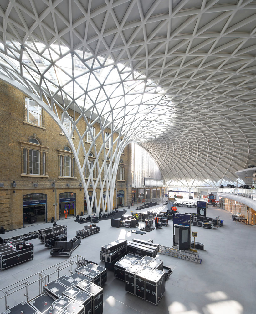 John Mcaslan Partners Kings Cross Station In London