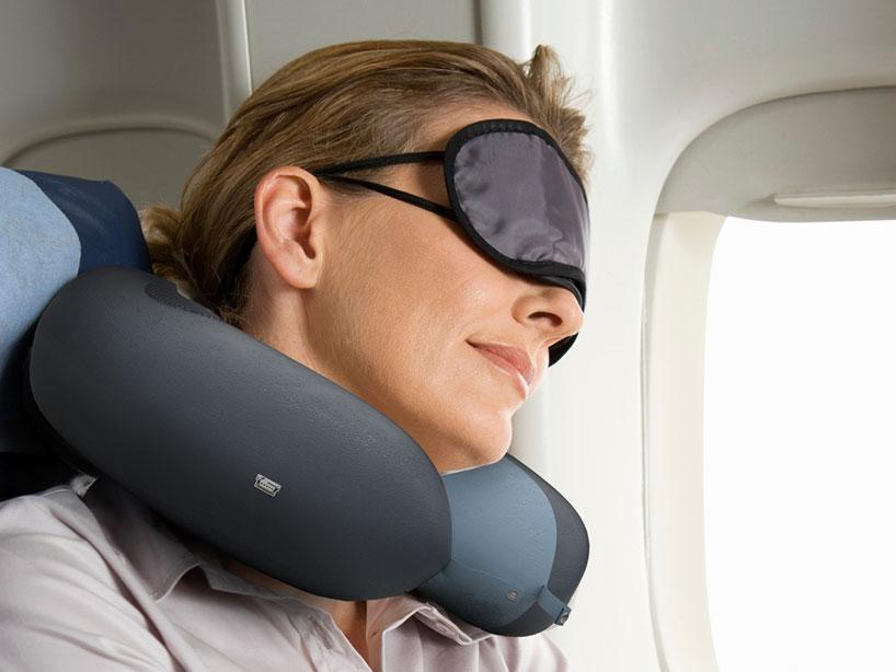 plane neck pillow designboom com