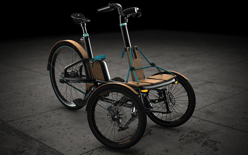 Niavis Design Evolves Kaylad E Into Hybrid Electric Tricycle