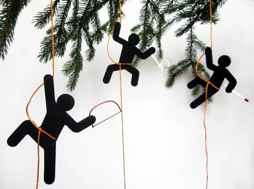 horrible holiday hooligans by sebastian reymers design