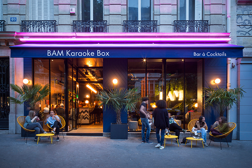 Michael Malapert Designs The Bam Karaoke Box In Paris With