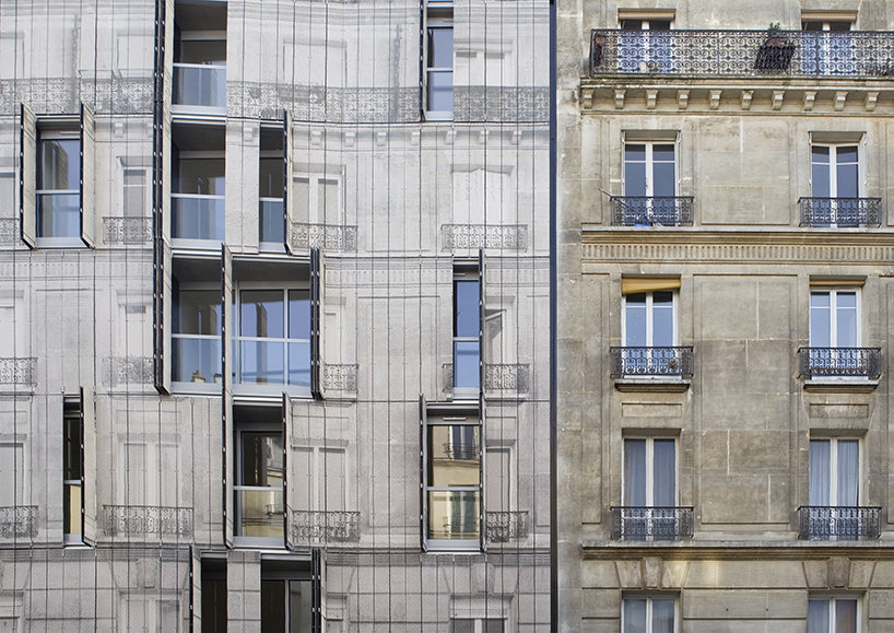 Chartcorb Prints Iconic Haussmannian Faade On A Parisian