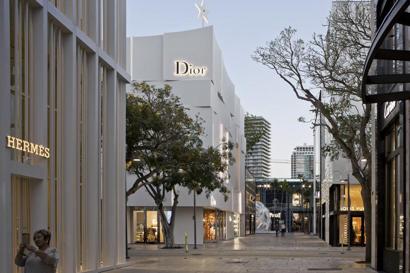 Barbarito Bancel Architects Dior Miami Boutique Faade