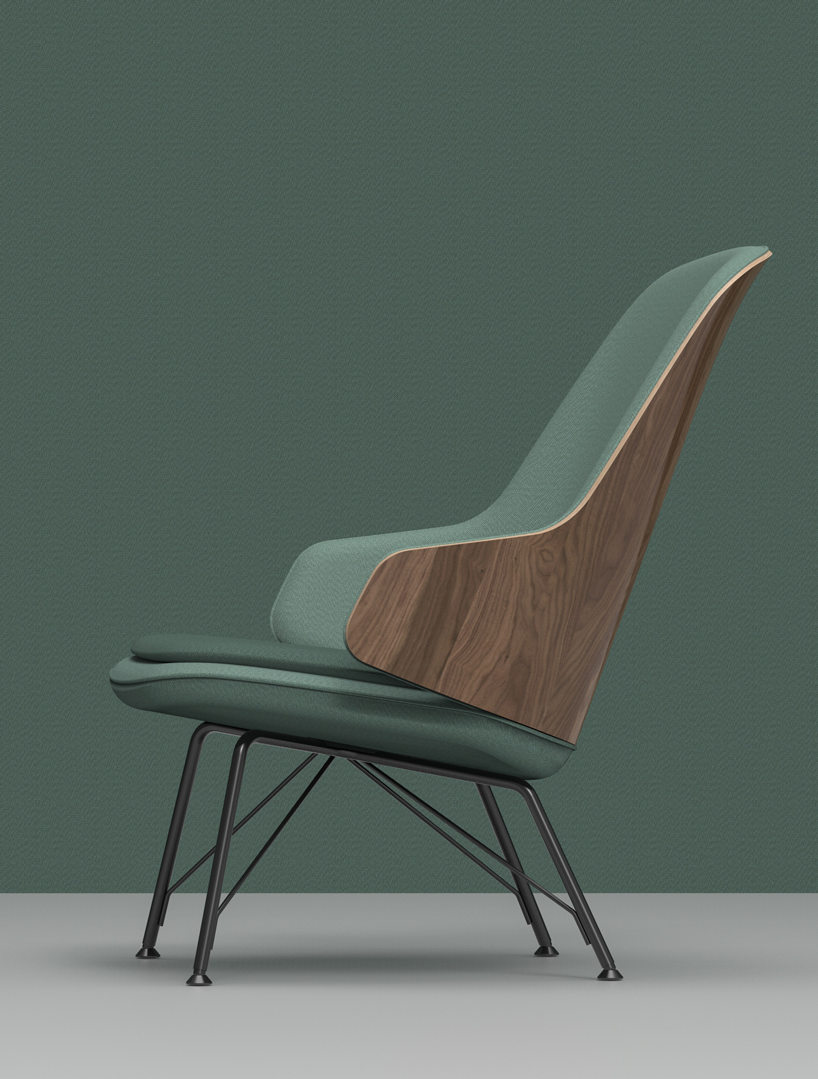 Frank Rettenbacher Collaborates With Zanotta For Judy Armchair