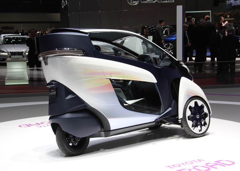 Toyota I Road Electric Personal Mobility Vehicle
