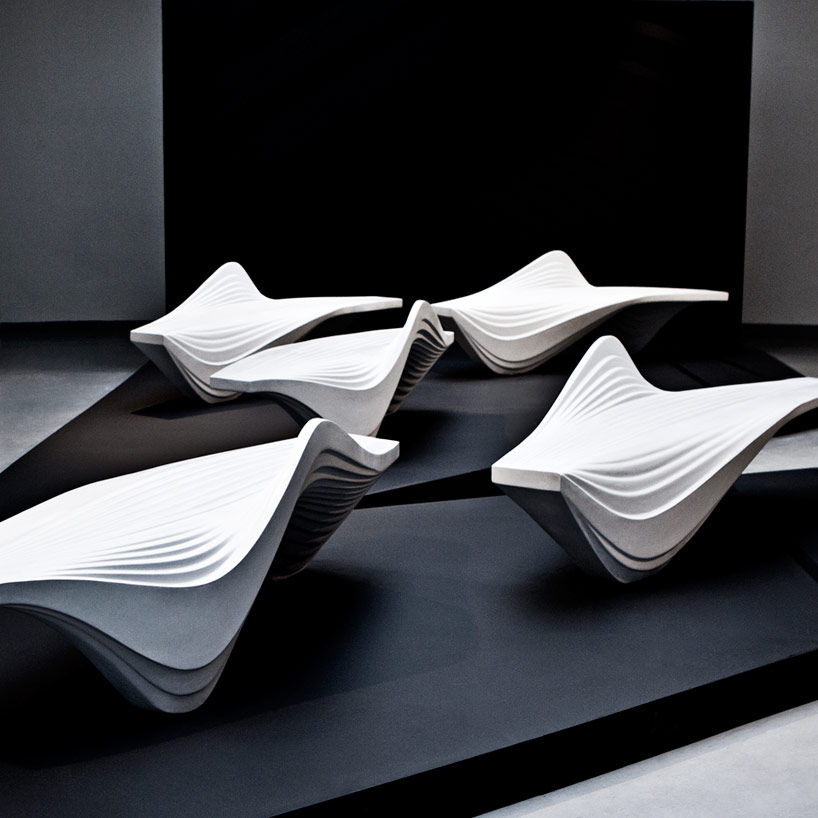 Zaha Hadid Serac Bench For Lab 23