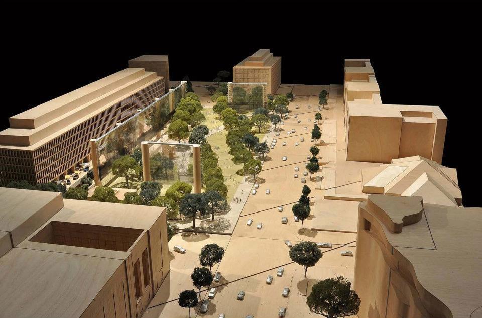 Frank Gehrys Revised Eisenhower Memorial Approved