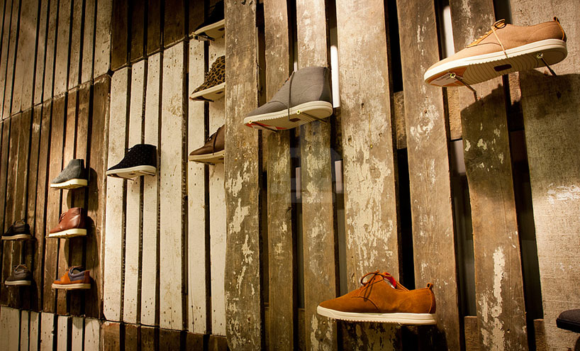 Modelina Architekci Designs Temporary Store For Clae Footwear