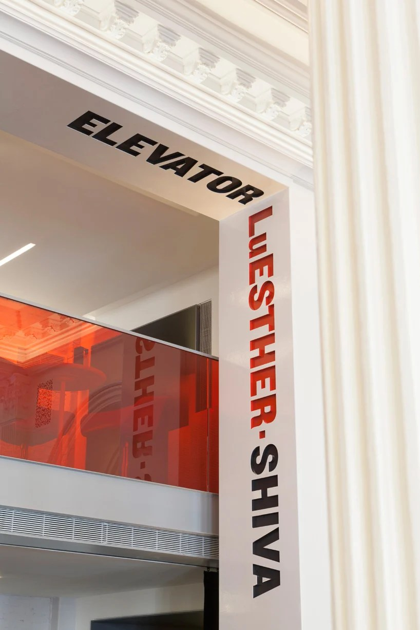 Public Theater Lobby Graphics By Pentagram