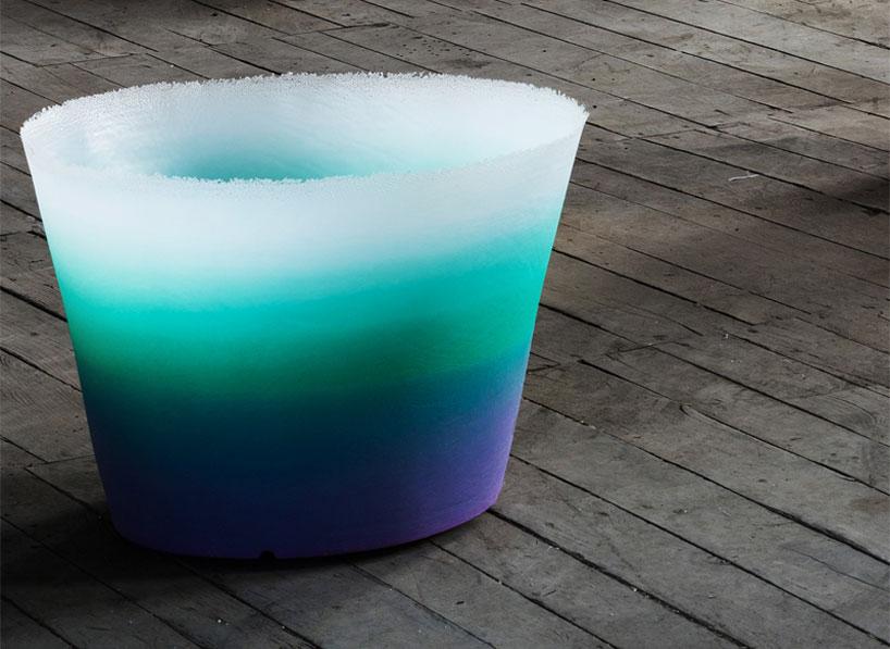 massimiliano adami: alba vase for serralunga