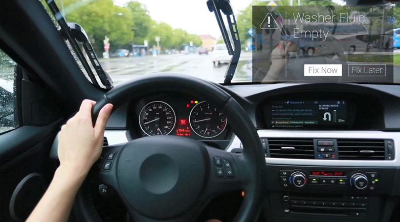 Augmented Reality Car Repair Manual For Google Glass By Metaio