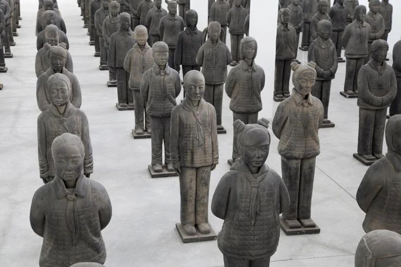 prune nourry's terracotta daughters reflect chinese gender bias