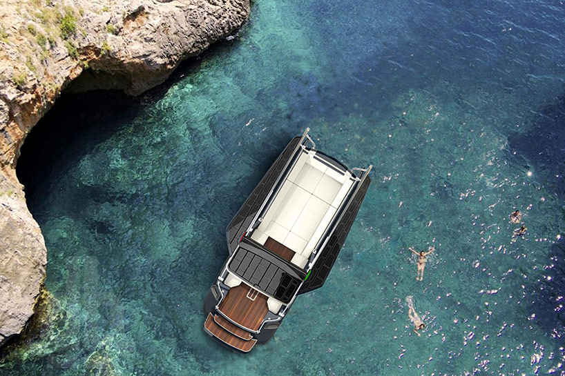 formquadrat develops fines a foldable floating island boat