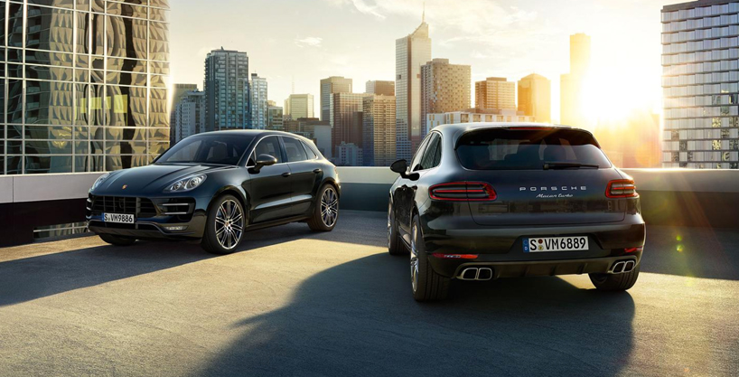 porsche introduces macan compact SUV