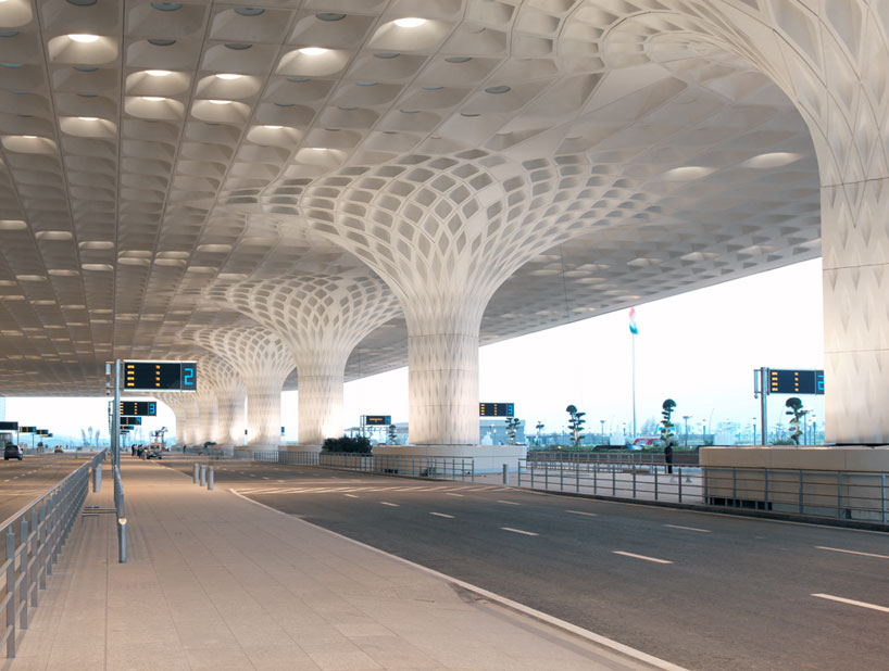 Som Unites Mumbai Airport Terminal With Fractal Roof Canopy