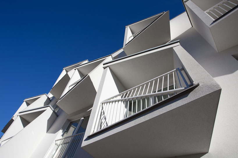 North Star Apartments By Nice Architects Feature Extruded