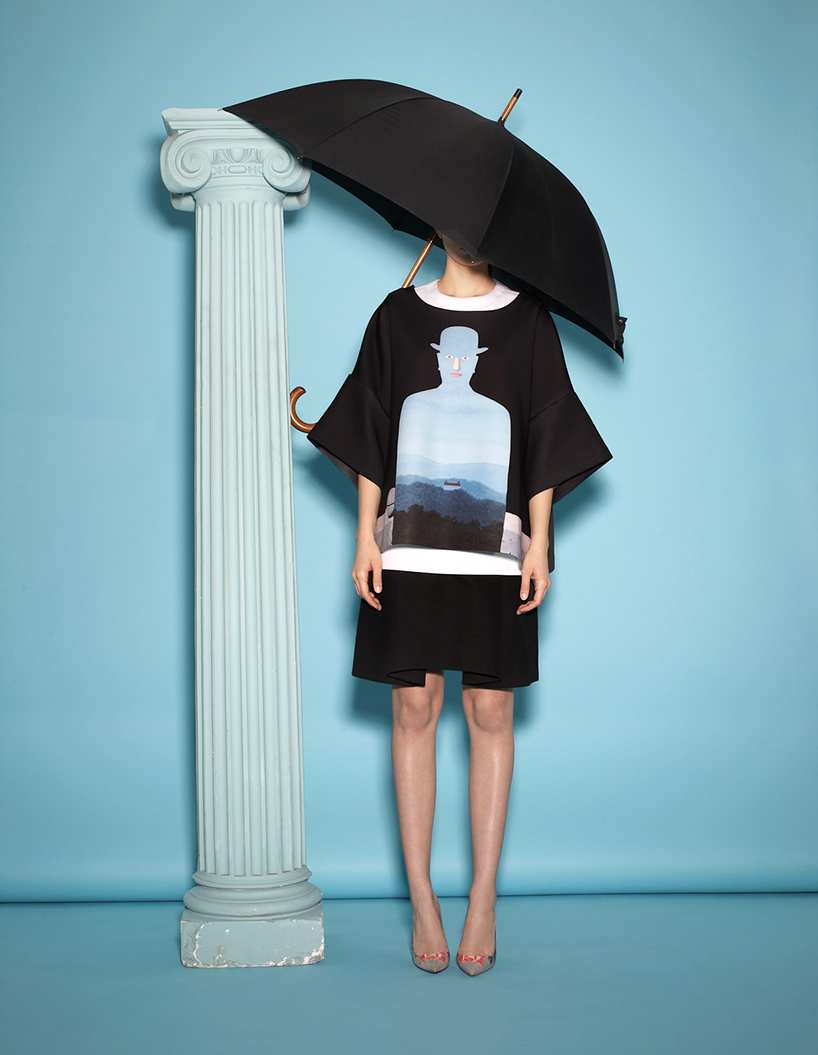 opening ceremony & magritte fuse fashion and fine art