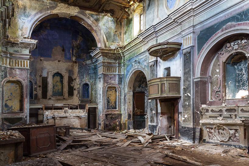 buona fortuna documents italian chapels abandoned after the irpinia earthquake