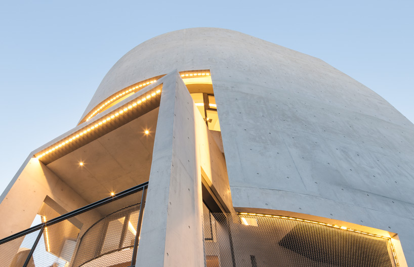 Moon Hoon Curves Concrete K Pop Building In Korea