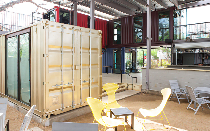 North Arrow Studio Re Purposes Shipping Containers Into