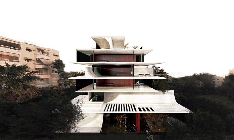 314 Architecture Studio Stacks H34 Seaside Apartments In