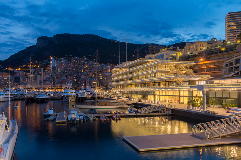 Foster Partners Anchors Monaco Yacht Club In Monte Carlo
